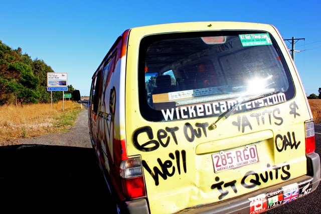 Wicked Campers Review - The Little Backpacker