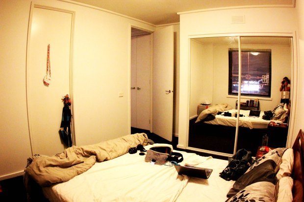 Our Room in the New Apartment