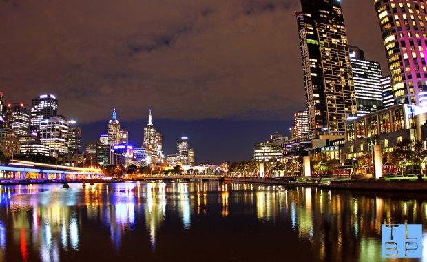 Melbourne Skyline by Night