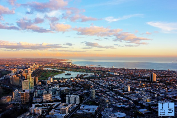 Albert Park From The Skydeck