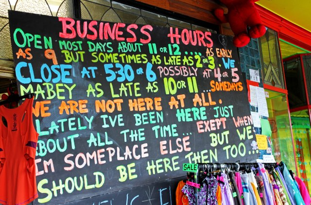 This sign in NIMBIN is kinda cool though.