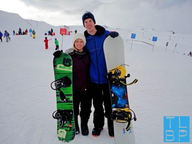 Snowboarding Cardrona