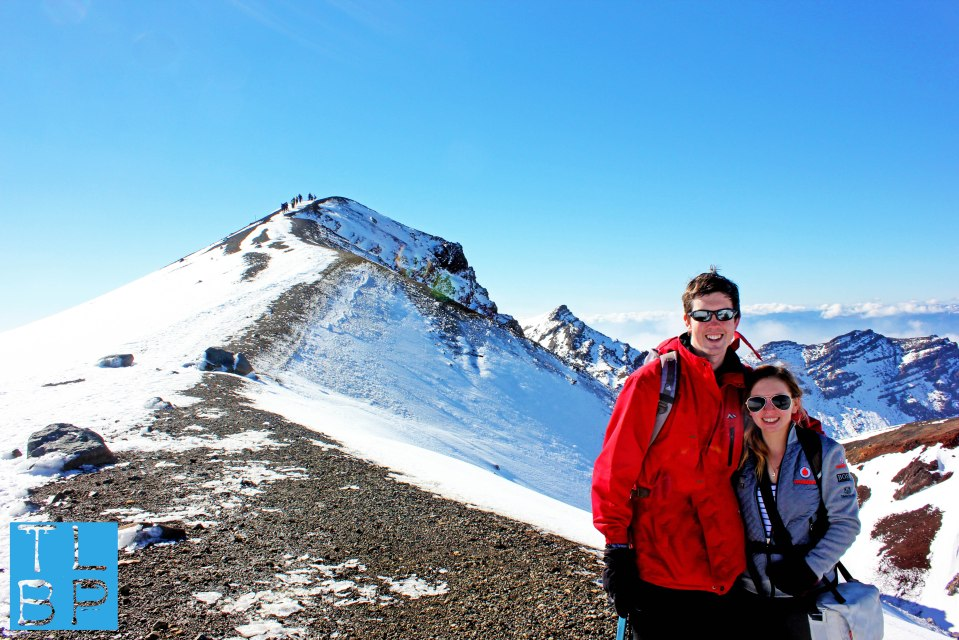 Climbing the Tongariro Crossing