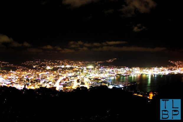 Wellington by night from Mt Victoria