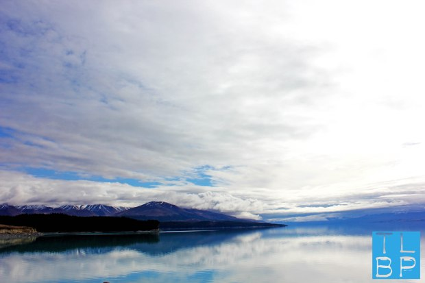 Lake Reflection - On the way to Christchurch