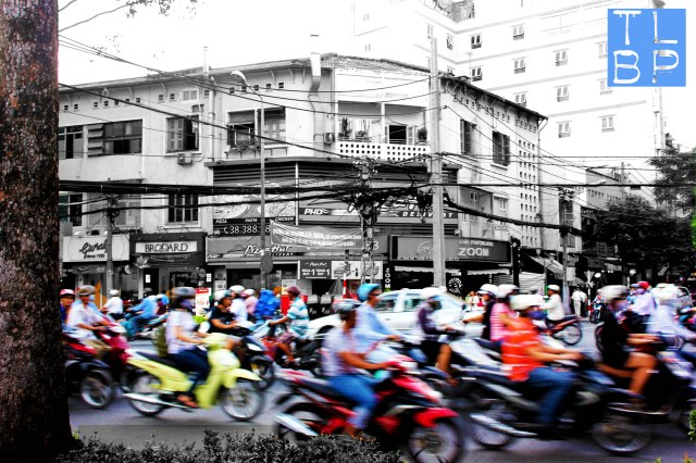 Saigon Traffic!