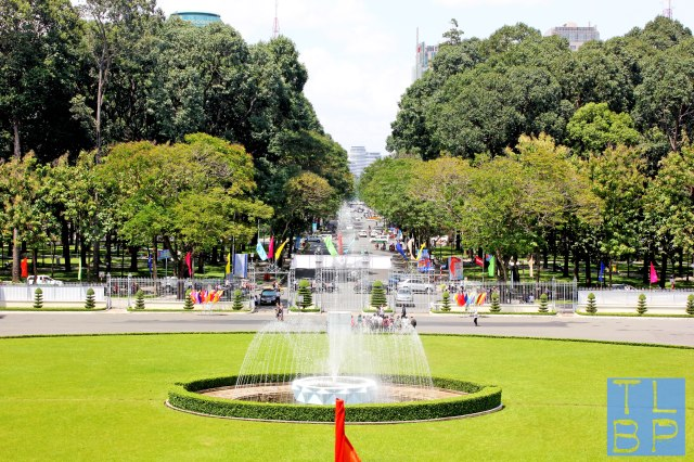 View From The Reunification Palace