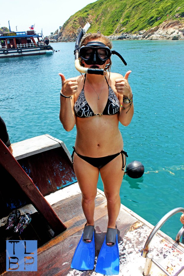 I Faced My Fear and WENT SNORKELLING - with fish and beautiful coral.