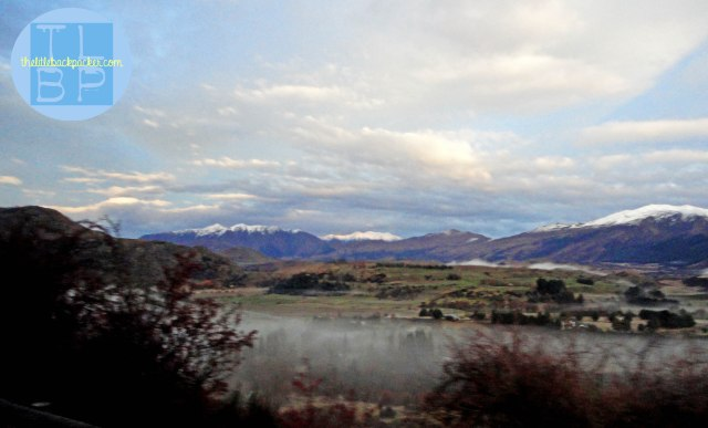 Queenstown from the bus