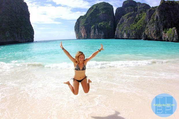 Classic Maya Bay Jump Shot, Thailand
