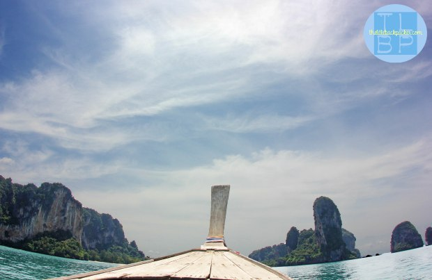 Longtail Boat Crusing