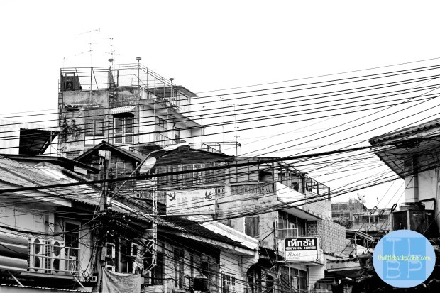 Power Lines In Bangkok