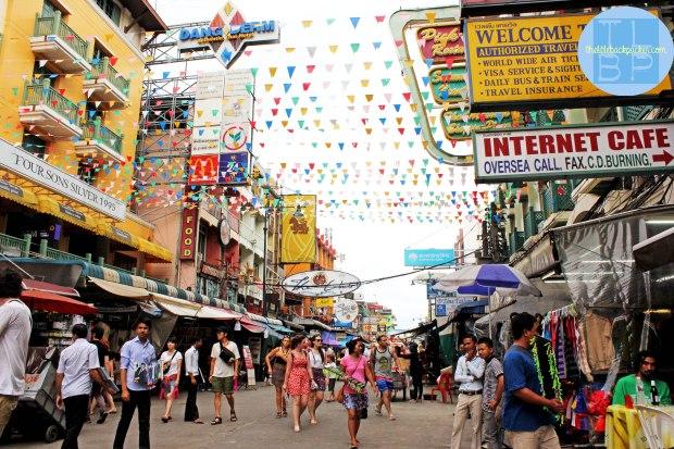 Famous Khao San Road