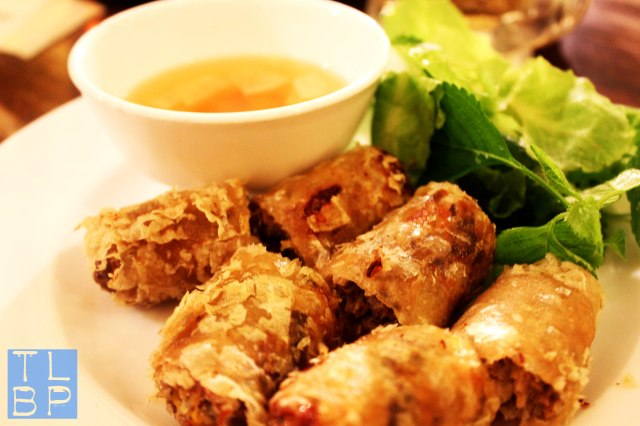 Freshly Made Spring Rolls - Typical Vietnamese Food