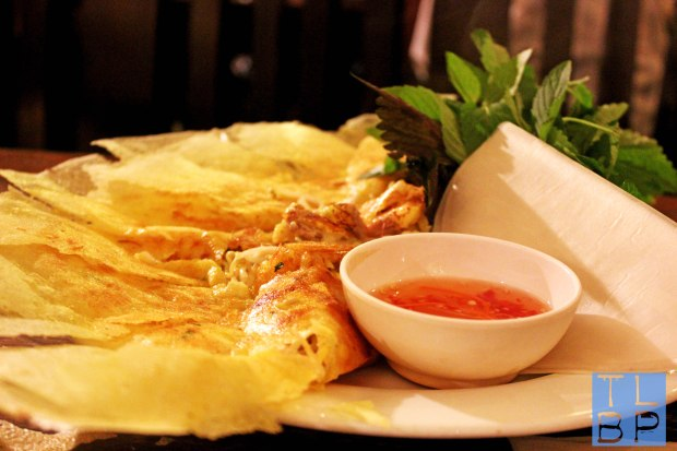 Shrimp and Pork Pancake - More Typical Vietnamese Food