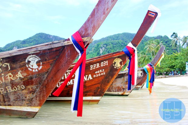 Longtail Boats, Ko Phi Phi, Thailand