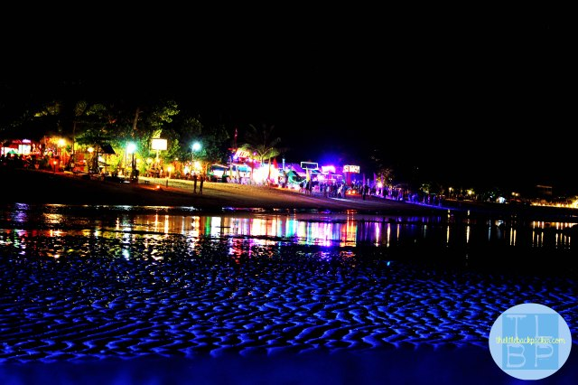 Phi Phi North Beach at Night