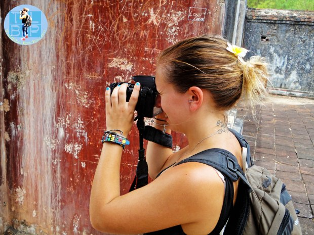 Photographing Tu Duc's Tomb
