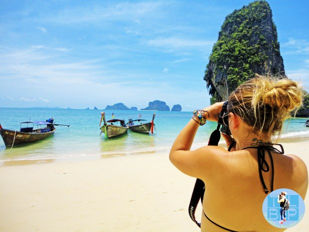 Taking photos in Krabi