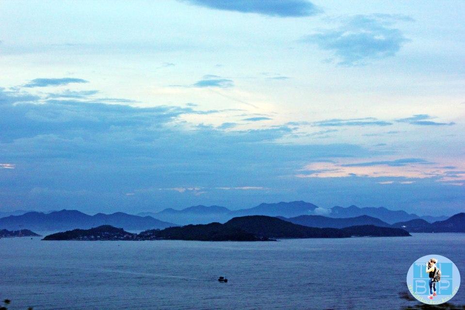 Road in to Nha Trang