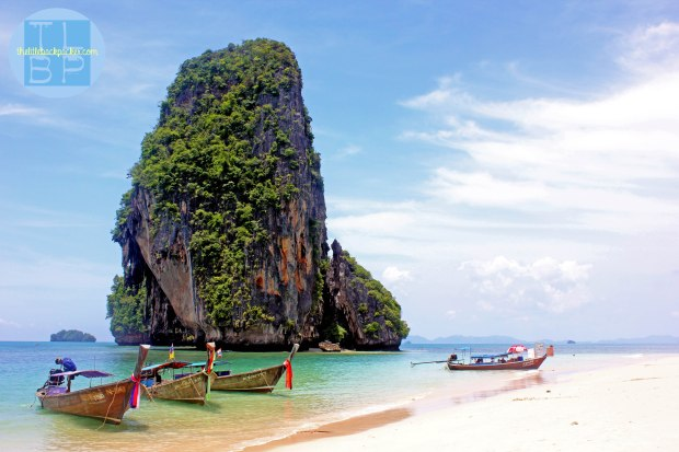 The beautiful beach of Railay Bay in Southern Thailand