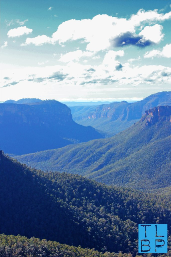 The ever so Blue Mountains on a glorious winters day