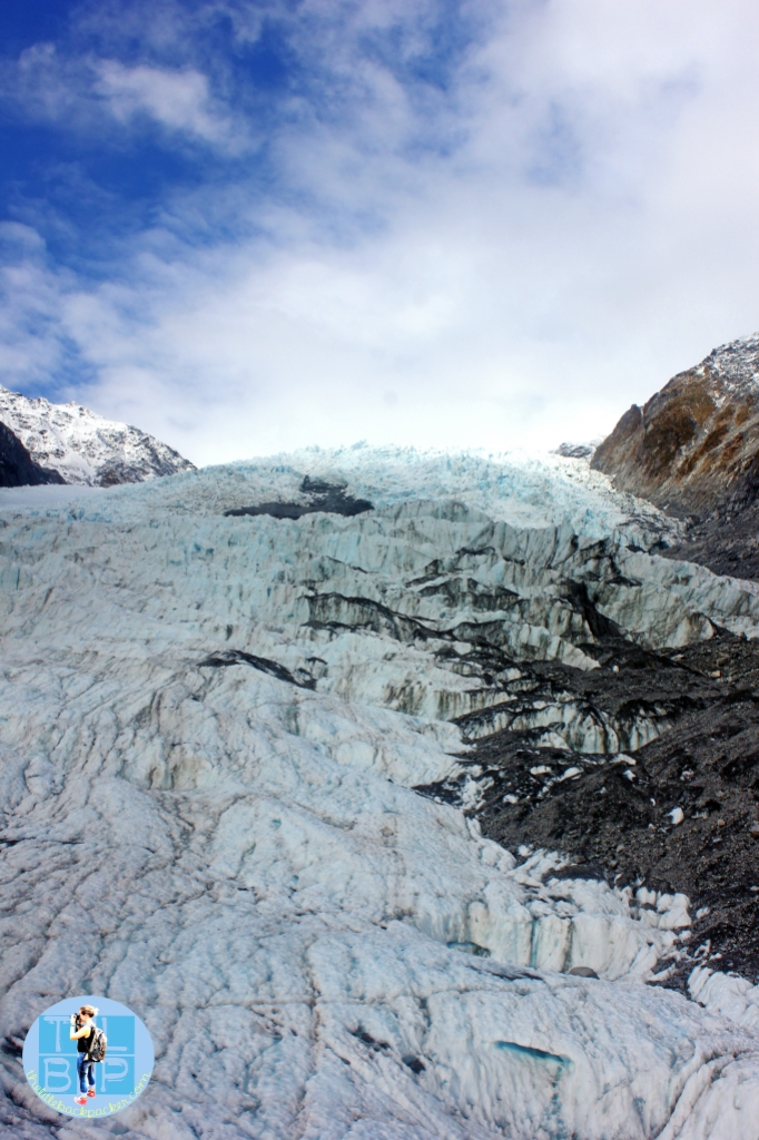 Franz Josef Ice Glacier on the South Island of New Zealand