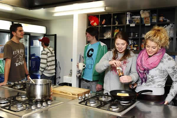 The kitchen facilities were pretty good.