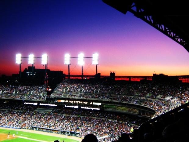 Baseball in Detroit back in 2011
