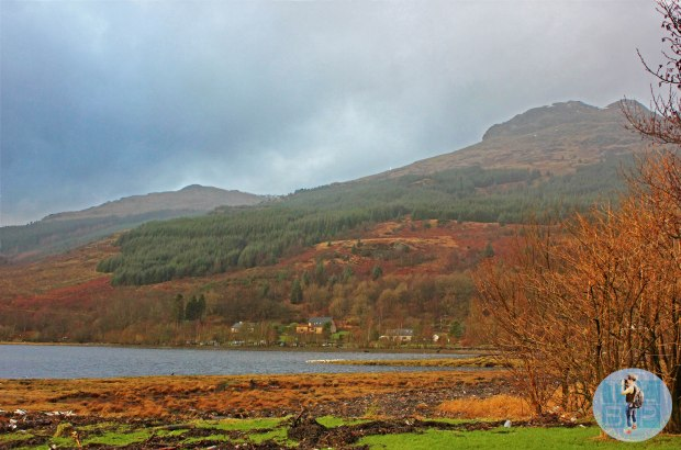 We spent our first night of the year in Arrochar, Loch Lomond, Scotland - what a beautiful place.