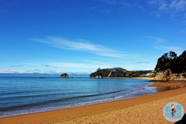 The beautiful view of Kaiteriteri beach