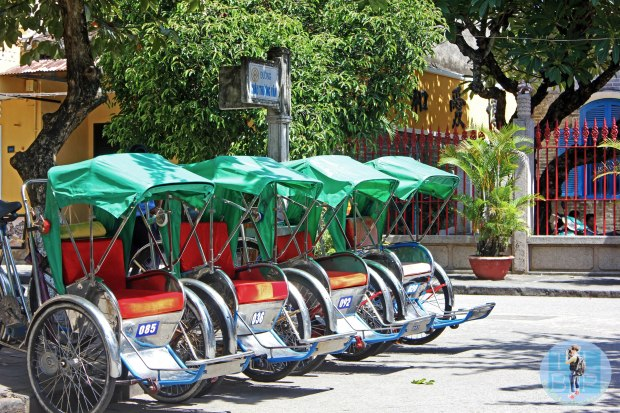 Bike Taxi's in Hoi An
