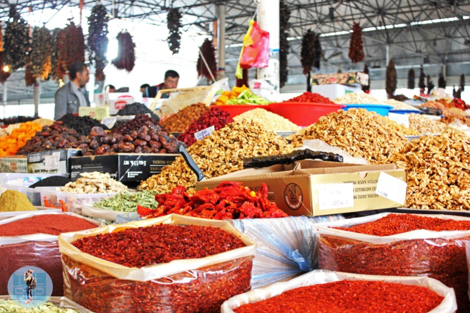 spices at the bazzar