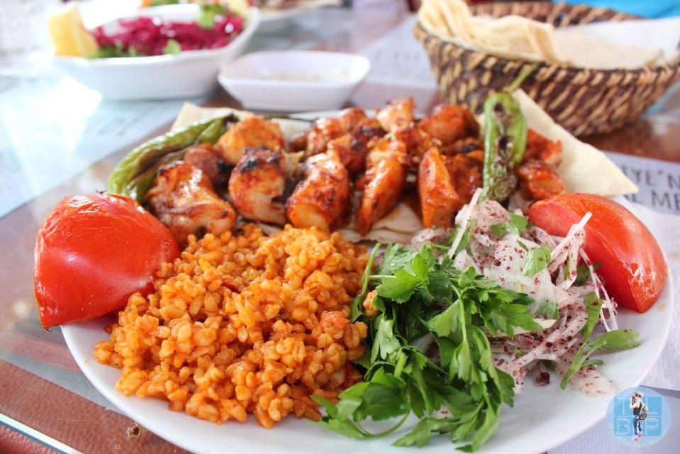 Turkish Kebab Dish