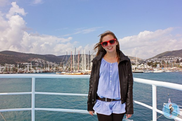 On The Boat In Bodrum Harbour