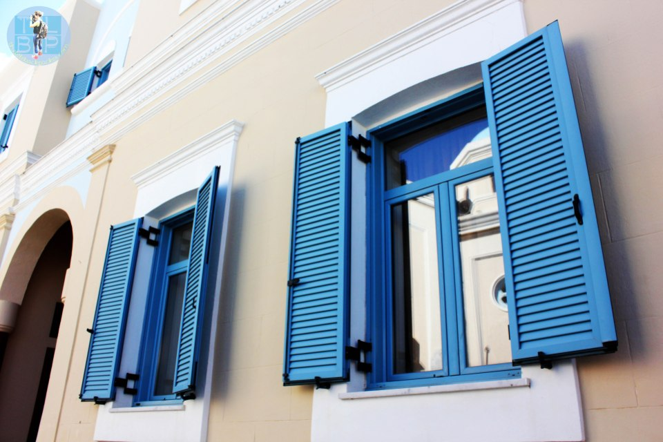 Windows of a church in Kos Town