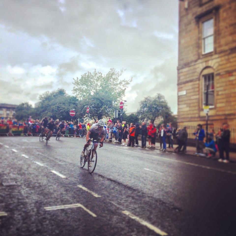 Road cycling Glasgow 2014