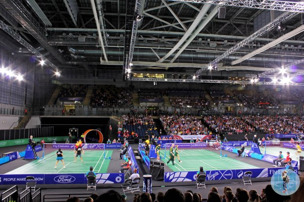 Badminton at the Emirates Arena