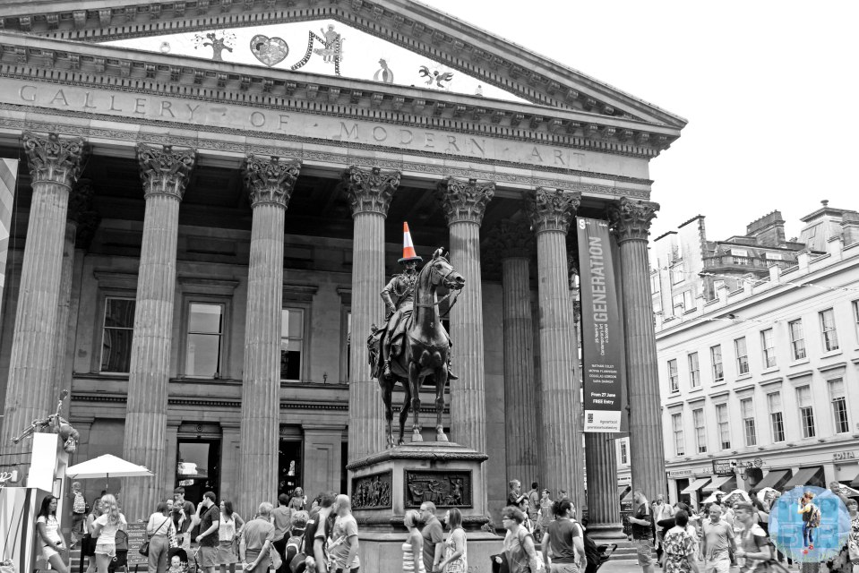 Glasgow's most iconic statue